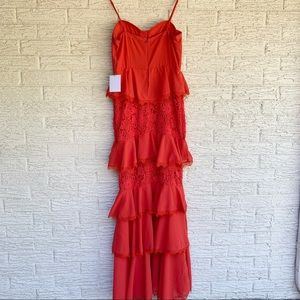 MAJORELLE Dresses - Majorelle Zelda Fitz Gown in Red